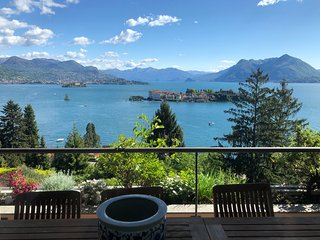 Sana luxury apartment in Stresa with amazing lake view