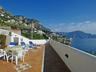 Conca dei Marini Villa Sleeps 5 with Pool Air Con and WiFi - 5248263