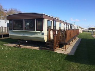 Two berth caravan, Highfields caravan park, Skegness