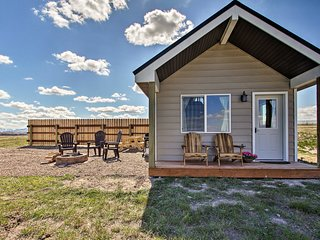 Custom Cabin Augusta Mt 360 View on Rocky Mtn Frnt