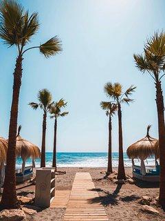 Playas y chiringuitos a 5 minutos