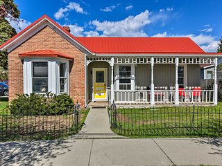 Chic Downtown Home w/ Grill, Steps to Main Street!