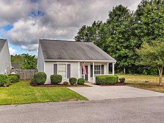 Updated Aiken Home w/ Patio, <2 Mi to Golf!