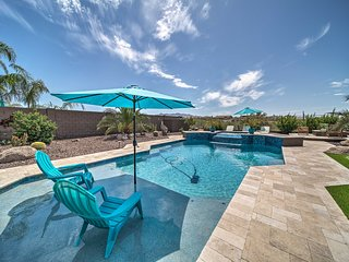 Upscale Goodyear Home w/ Resort-Style Pool!