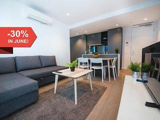 A Cozy & Modern 2BR Home Near Melbourne Central