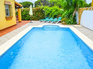 Villa Verena with private pool and close to the beach