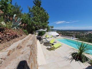 Villa 6 pers avec piscine privee - superbe vue mer