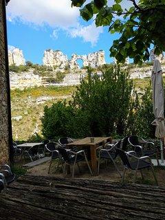 Restaurante bar El Risco, cerca de la casa, magníficas vistas