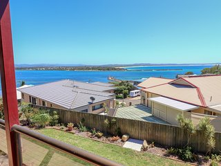 Diamond View. Large family home with superb views of Ocean and Channel