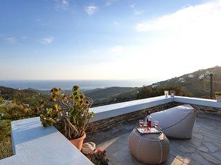 Kato Spiti - Artful Home with Sea View