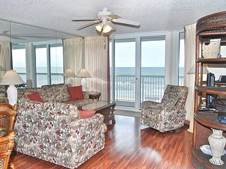 Sunrise Pointe 4G-  Oceanfront condo with the the perfect view!!!