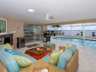 Riverview - Exclusive Riverfront Living! Direct Gulf Access & Coastal Decor