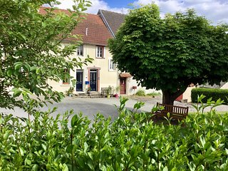 18C stone cottage in a quiet village in the New Aquitaine, SW France. Nr Limoges