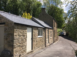 Tastefully extended large 2 double  bedroom cottage  with garden and parking .