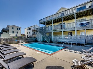 Sea the Day | 717 ft from the beach | Private Pool, Hot Tub | Nags Head