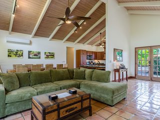 Beautiful Poipu home, steps to the beach, pools and tennis!