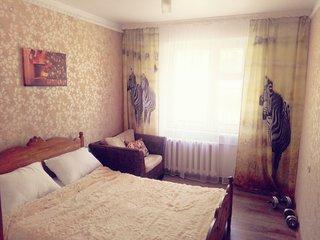 Апартаменты в г. Владивостоке для размещения 4-6 человек.