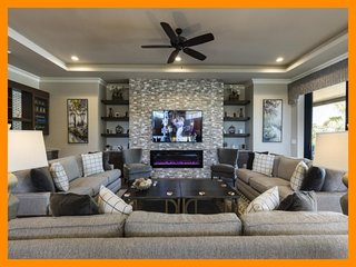 Reunion Resort 1098 - Exclusive villa with pool, games room and home theatre