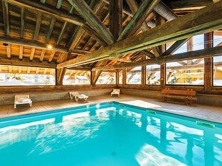 Appartement chaleureux dans un chalet | Acces piscine chauffee
