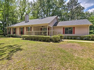 NEW! Cordova Home -13 Acres, Event Barn, & Pond!