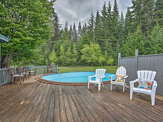 NEW! Spacious Cle Elum Retreat w/Yard, Pool & Spa!