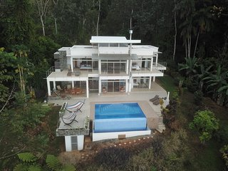 Beautiful Home High in the Rain Forest