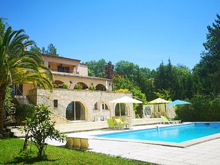 STUNNING villa & apartment cote d azur with pool