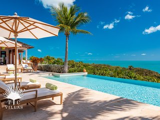 Villa Alamandra // Oceanfront villa with private dock, infinity pool, and +