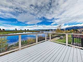 New-Build Tahoe Keys Haven w/ Pool Table, Decks & Mountain Views - Near Beach