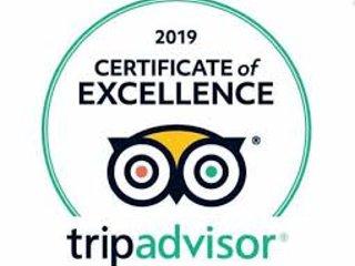 El apartamento 2 recibió un Certificado de Excelencia de TripAdvisor 2019
