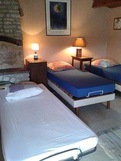 La chambre version dortoir
