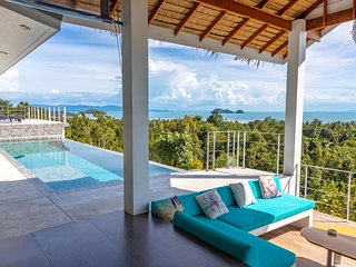 Shades of Blue - tropical chic sea view villa