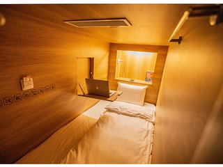 Khan Hoang Capsule hotel -  Bed in Male Dormitory Room