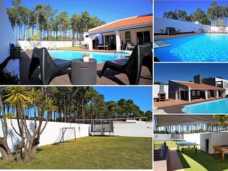 Villa, private pool, 5 min beaches 20 min Lisbon