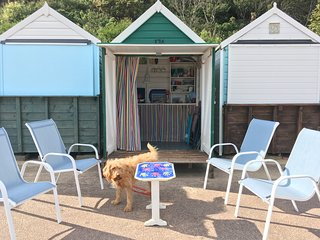 Large Edwardian holiday home with beach hut