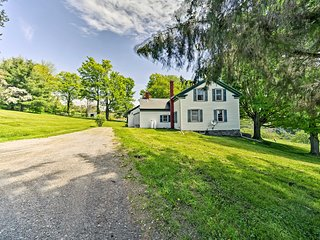 NEW! Historic Farmhouse w/Deck in the Catskills!