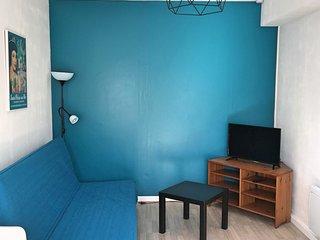 """Appartement 6  """"Les Carrelets"""" –  33m2 – 1 chambre – 2 personnes"""