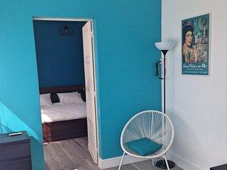 Appartement 1 < Saint Palais > :  54 m2 – 2 chambres – 6 personnes