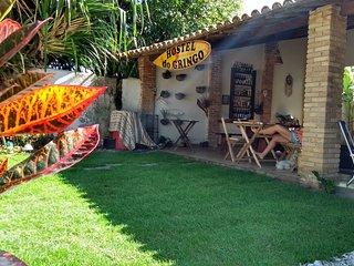 Hostel do gringo  hospedaria, quartos compartilhados,  com ar condicionado Split