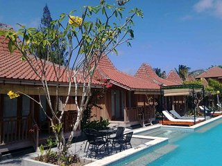 Panorama Cottages Beach Village Ekas - Double room with sea view 1