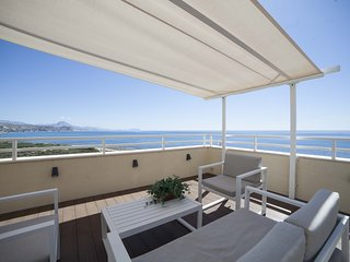 Cabo Mar: Duplex Apartment with Magnificent Terrace with Views to the Sea