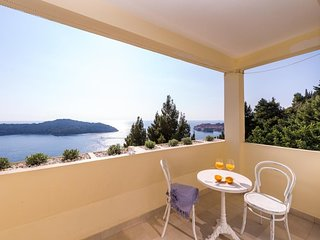 Sea View Apartments - One Bedroom Apartment with Balcony and Sea View, A2+2