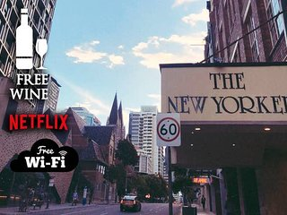2BR Taste of NYC in BNE ★Central CBD★Wine★Netflix