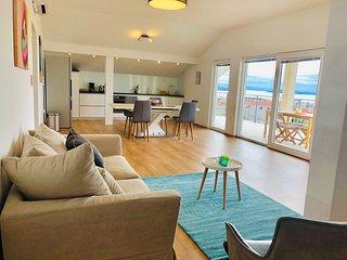Luxury Panoramic Apartment 'Sunshine Supreme' between Split and Trogir