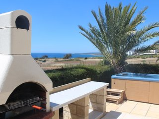 Akamas Lookout - Panoramic Sea View Villa - 8m Private Pool, Tranquil Setting