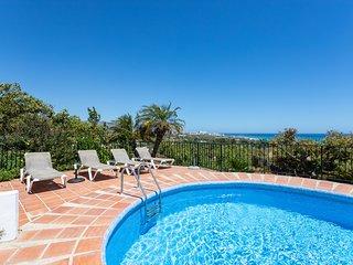 Villa Artemisia, con Piscina privada y vistas al mar