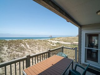 Enjoy Oceanfront Views of Haystack Rock at this 3 Bedroom in Pacific City, OR