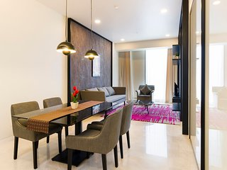 Sleek & Chic Residence In KLCC // KLCC时尚别致的住宅