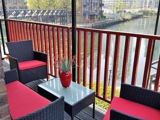 Balcony overlooking Blackwall Basin