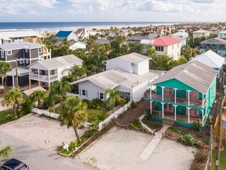 Seascape 2 - Upstairs unit Incredible Beach House, lovely street 300 ft. from be